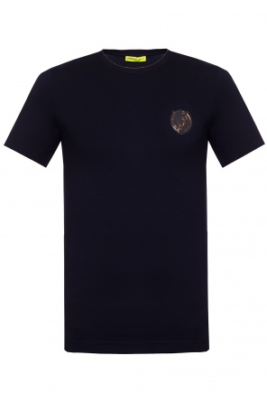 Logo-patched t-shirt od Versace Jeans