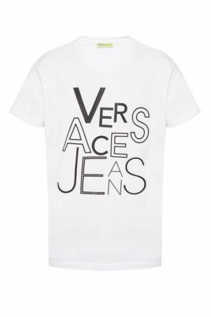 T-shirt with a logo print od Versace Jeans