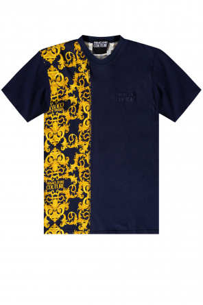 T-shirt with logo od Versace Jeans Couture