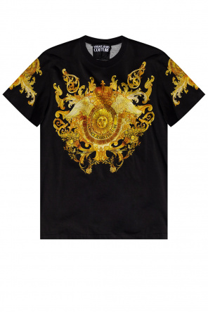 Logo t-shirt od Versace Jeans Couture
