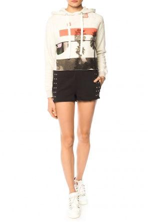 'bay' cropped sweatshirt od AllSaints