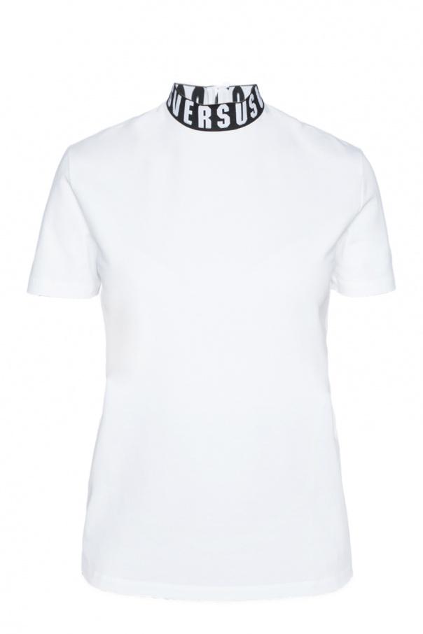 36742d4428e Turtleneck T-shirt with logo Versace Versus - Vitkac shop online