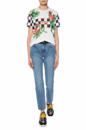 T-shirt with colourful print od Versace Versus