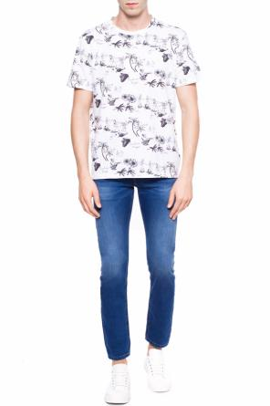 'big up' printed t-shirt od AllSaints