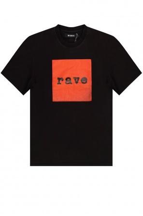 'rave' t-shirt od MISBHV