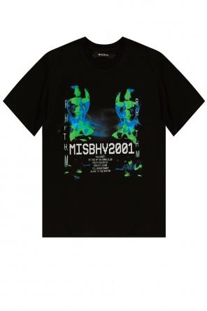 'rythm' t-shirt with logo od MISBHV