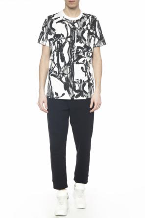 Plants motif t-shirt od Givenchy