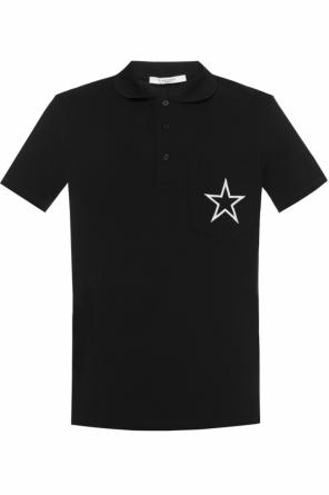 Chest pocket polo od Givenchy