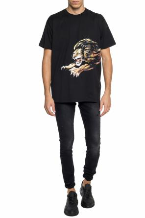 T-shirt with a print od Givenchy