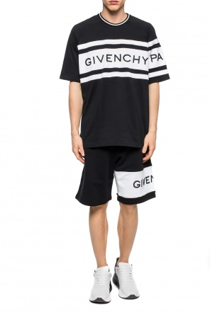 Logo-embroidered t-shirt od Givenchy