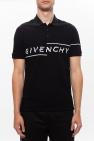 Givenchy Logo-embroidered polo shirt