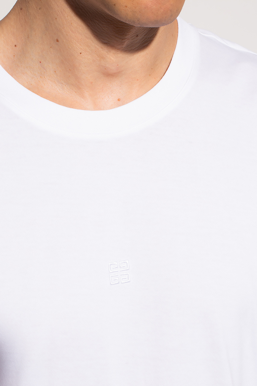 Givenchy Logo-embroidered T-shirt