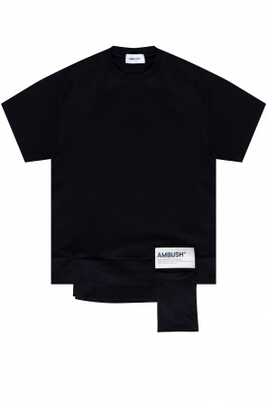 Logo-patched t-shirt od Ambush