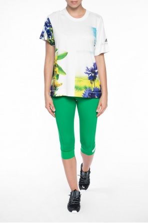 T-shirt z nadrukiem od Adidas by Stella McCartney