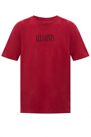 'brackets' t-shirt with logo od AllSaints