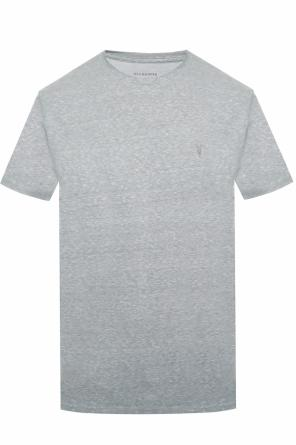 'bray ss crew' t-shirt with an embroidered logo od AllSaints