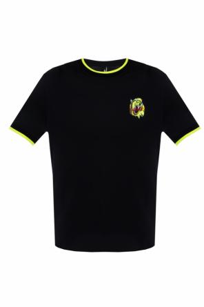 Patched t-shirt od Versace Versus