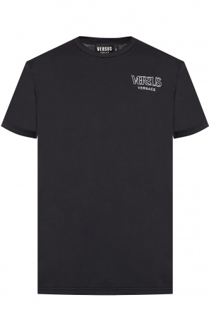 Logo-embroidered t-shirt od Versace Versus