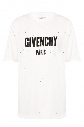 T-shirt with holes od Givenchy