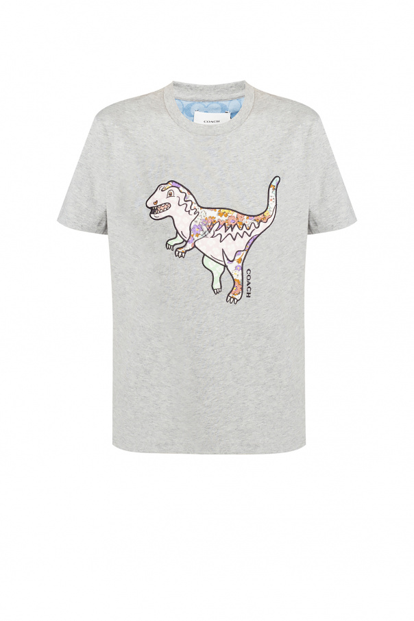 Coach T-shirt with logo