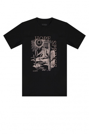 'cacti' printed t-shirt od AllSaints