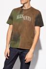 AllSaints 'Camo' tie-dyed T-shirt