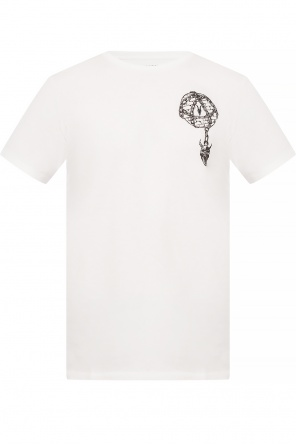 'chained' printed t-shirt od AllSaints