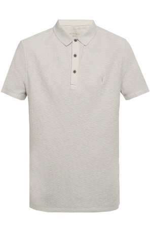 Logo-embroidered polo od Allsaints