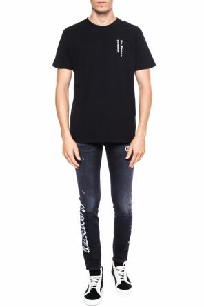 T-shirt with lettering od Marcelo Burlon