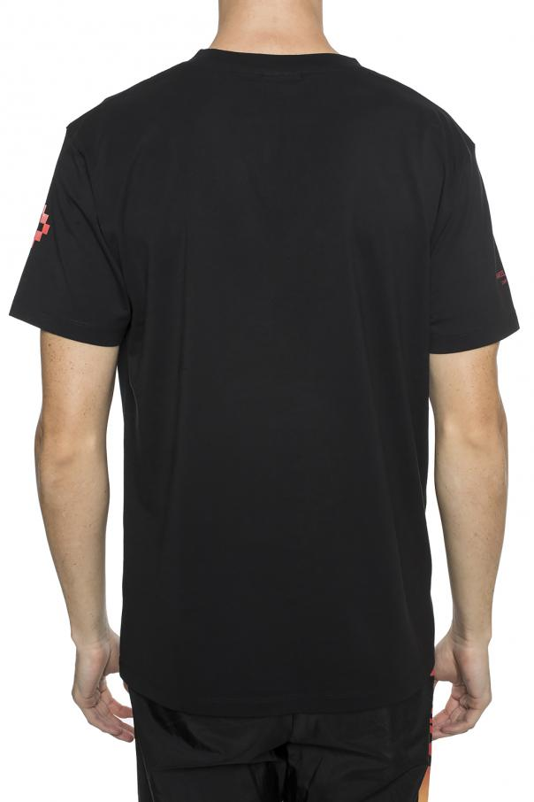 T-shirt with prints od Marcelo Burlon