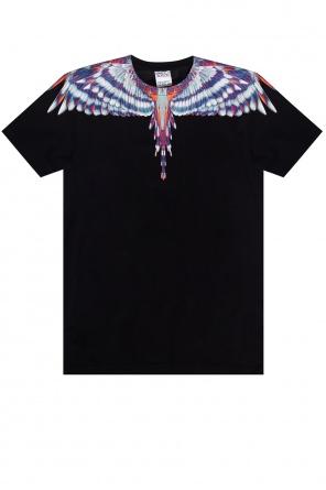 T-shirt z motywem zwierzęcym od Marcelo Burlon