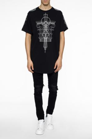 Printed long t-shirt od Marcelo Burlon