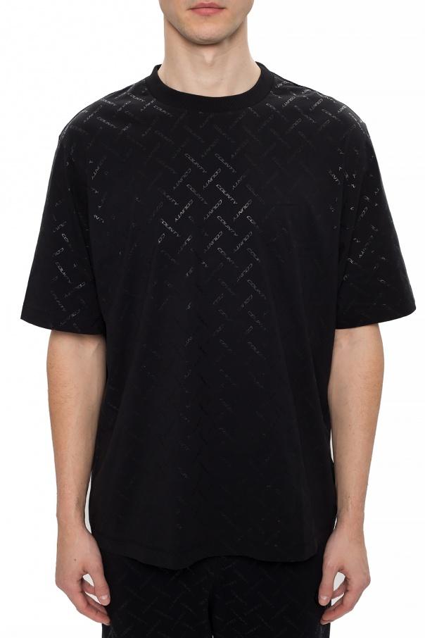 Marcelo Burlon T-shirt z nadrukiem OPshMH60