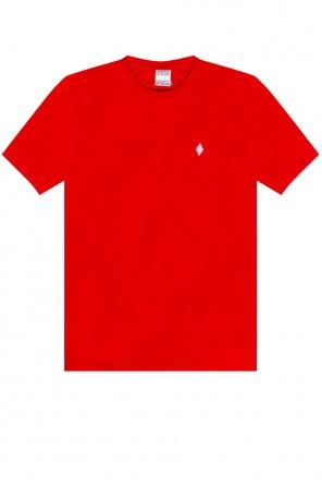 T-shirt z logo od Marcelo Burlon