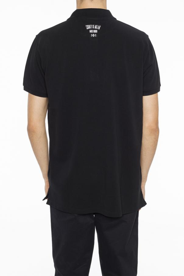 Logo-embroidered polo od Marcelo Burlon