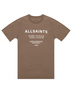 'co-ordinates' t-shirt od AllSaints