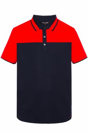 Logo-embroidered polo od Michael Kors