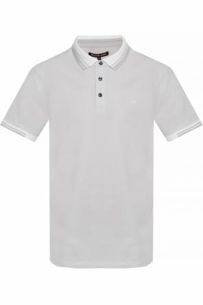 Polo shirt with a decorative collar od Michael Kors