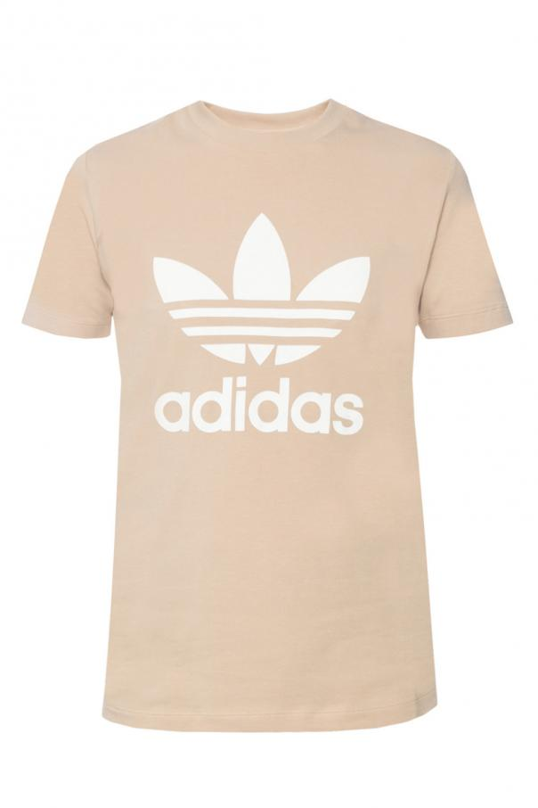Printed logo t shirt adidas vitkac shop online for Adidas lotus t shirt