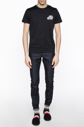 Patched t-shirt od Moncler