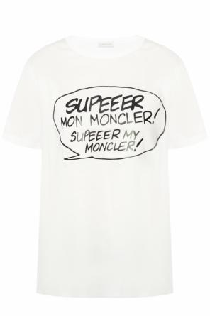 T-shirt with round neck od Moncler