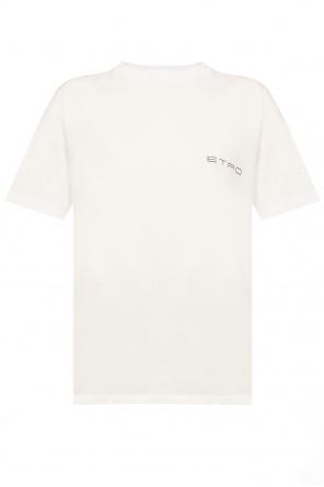 Round neck t-shirt od Etro