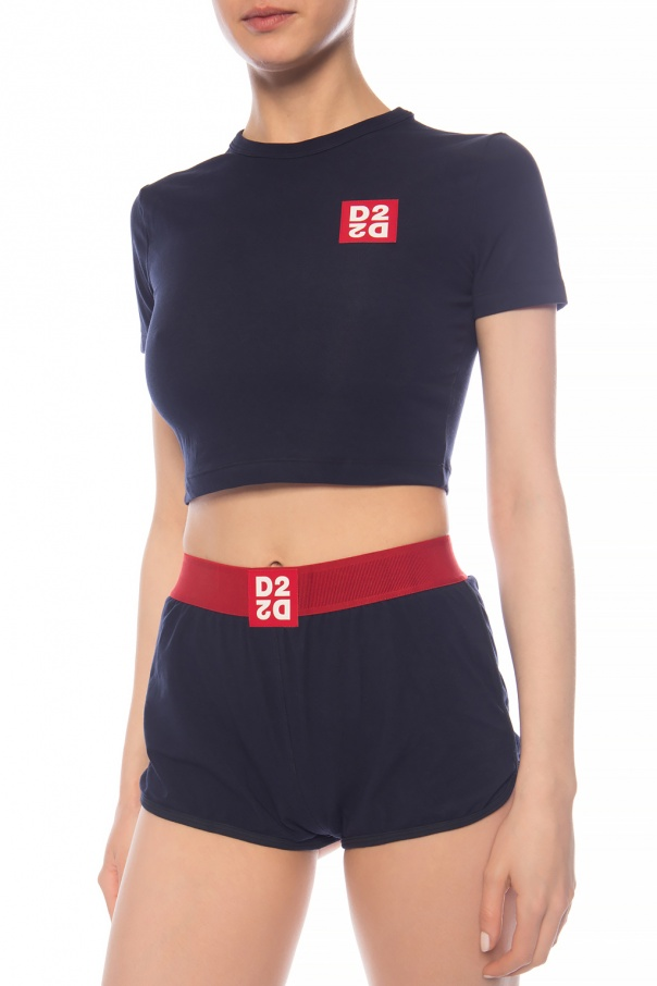 Crop top with logo od Dsquared2