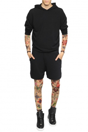 T-shirt with tattoo motif od Dsquared2