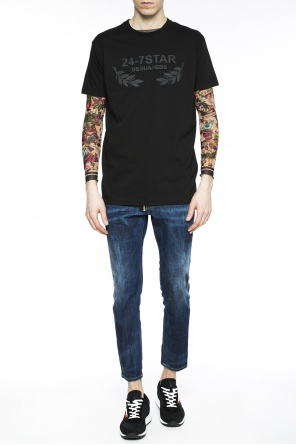 Tattoo-motif t-shirt od Dsquared2