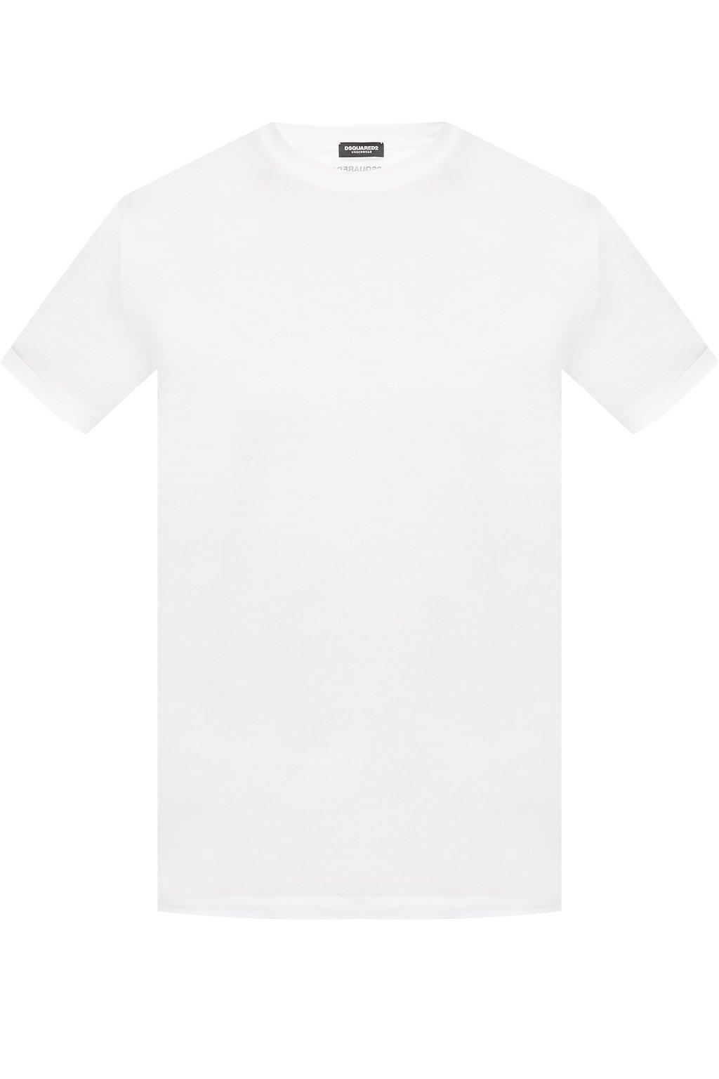 dsquared2 round neck t-shirt white