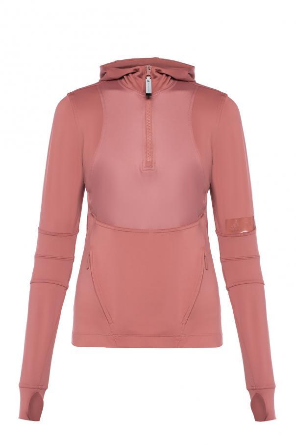 4b468262dd Hooded sweatshirt with logo ADIDAS by Stella McCartney - Vitkac shop ...