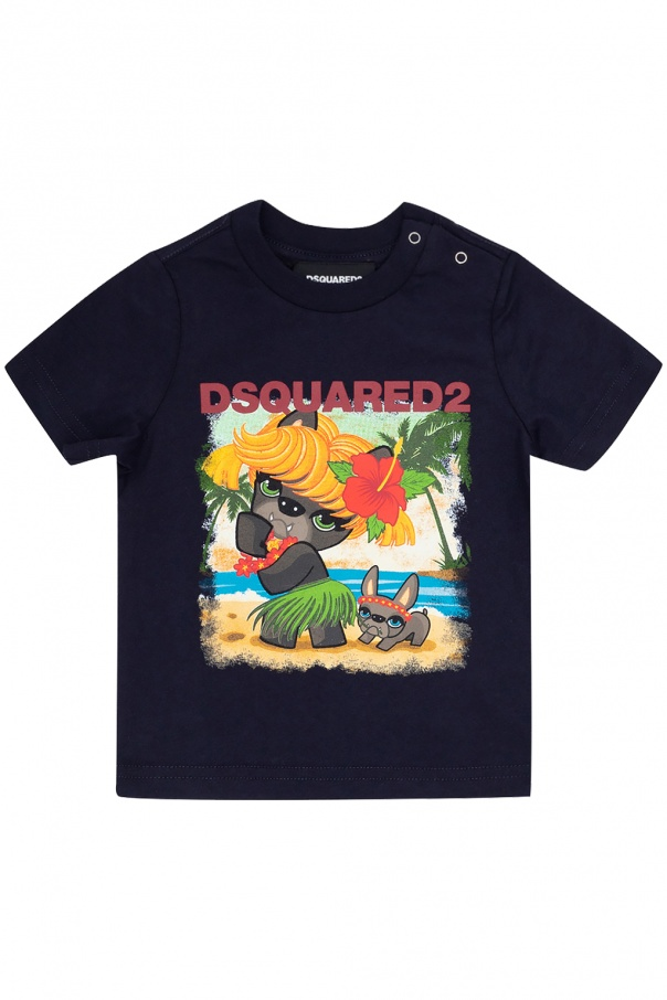 Dsquared2 Kids Printed T-shirt