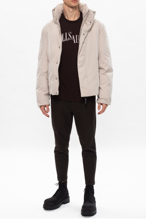 'dropout' t-shirt with logo od AllSaints