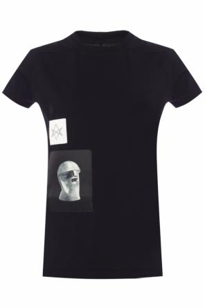 Patched t-shirt od Rick Owens DRKSHDW